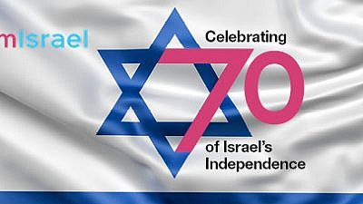'I am Israel' campaign banner