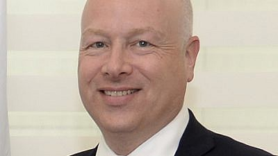 President Trump's Special Representative for International Negotiations Jason Greenblatt. Credit: Wikipedia.