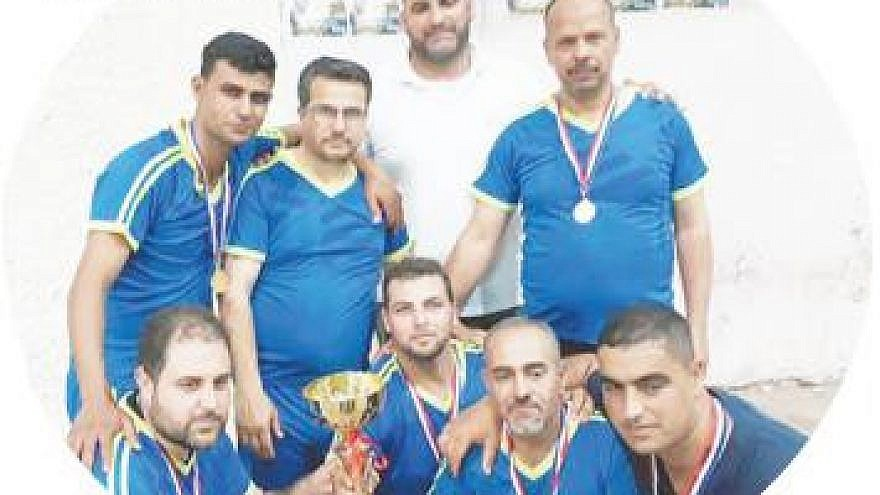 "The Qalqilya Directorate of Education, which is a branch of the Palestinian Authority Ministry of Education, recently held the ""Martyr Abd Al-Jaber Abd Al-Qader Khaled Volleyball Championship for Teachers,"" named after a Palestinian terrorist and member of Fatah's military wing, the Al-Aqsa Martyrs' Brigades. (Official P.A. daily Al-Hayat Al-Jadida, May 12, 2018: PMW)"