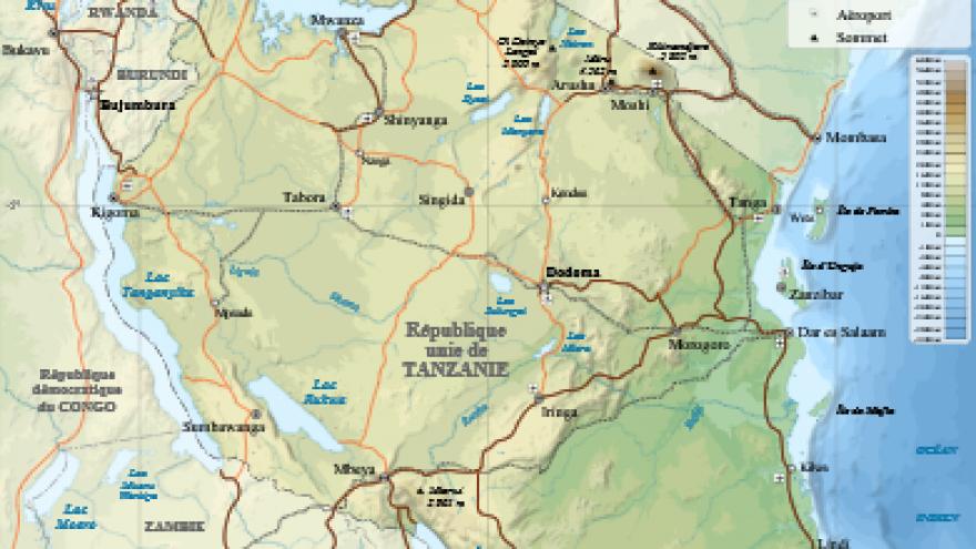 Tanzania. (Wikipedia)