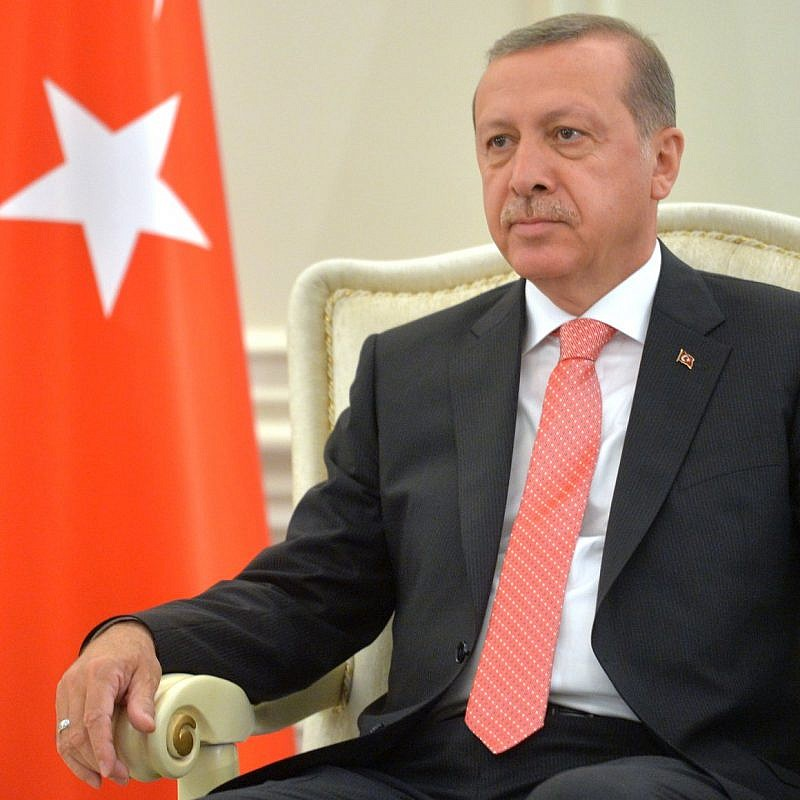 Turkish President Recep Tayyip Erdoğan. Credit: Wikimedia Commons.