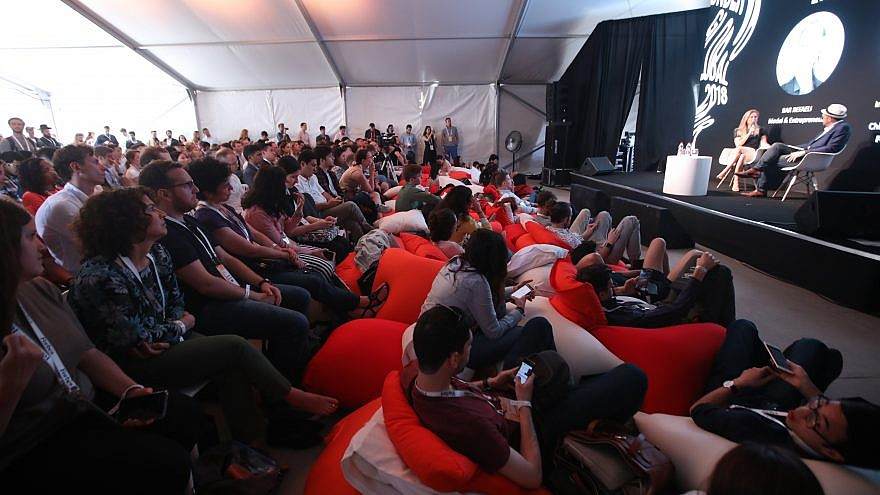 "Some 700 of the world's most influential young entrepreneurs from 38 countries converged in Israel for the first-ever ""Forbes Under 30 Global Summit"" in 2018. Credit: Courtesy."