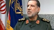 Iran's Revolutionary Guard  commander Ismail Kowsari. Credit: Screenshot.