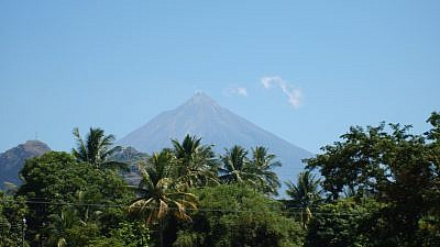 Guatemala's Volcán de Fuego in 2007. Credit: Wikimedia Commons.