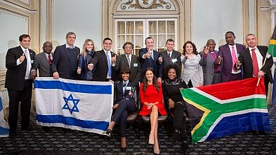 Jewish and Christian South African leaders. Credit: South African Friends of Israel.