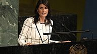 """U.S. Ambassador to the United Nations Nikki Haley addresses the 10th emergency special session of the General Assembly on: """"Illegal Israeli actions in Occupied East Jerusalem and the rest of the Occupied Palestinian Territory."""" Credit: U.N. Photo/Evan Schneider."""