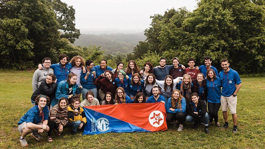 Camp staff at Habonim Dror. Credit: Habonim Dror.