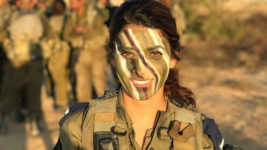 Lt. Shani Amos, commander of an Iron Dome battery company in the Ashkelon area. Credit: IDF Spokesperson Unit.