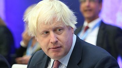 British Foreign Secretary Boris Johnson. Credit: Wikimedia Commons.