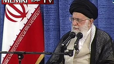 "Iranian Supreme Leader Ali Khamenei: ""If Europe Does Not Meet Our Demands, We Will Have the Right to Renew Our Nuclear Activity."" (Iran's Channel 1 TV on May 24: MEMRI)"
