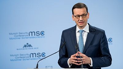 Poland's Prime Minister Mateusz Morawiecki. Credit: Wikimedia Commons.