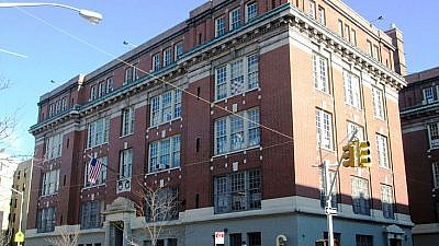 P.S. 132, the Juan Pablo Duarte School, located at 185 Wadsworth Avenue between West 182nd and 183rd Streets in the Washington Heights neighborhood of New York City. Credit: Wikimedia Commons.