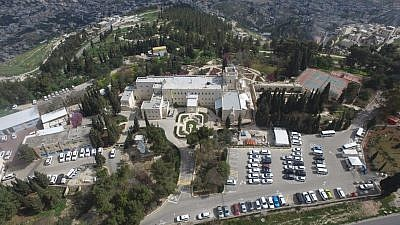 The UN's Armon HaNatziv compound in Jerusalem (Regavim)