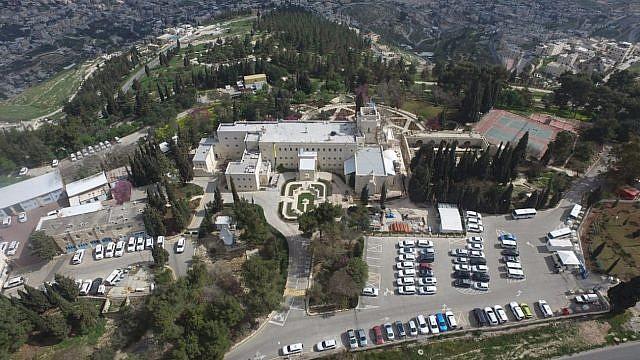 The UN's Armon HaNatziv compound in Jerusalem (Regavim)
