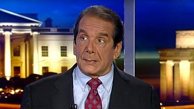Conservative commentator Charles Krauthammer, who passed away on June 21 at the age of 68. Credit: Screenshot.