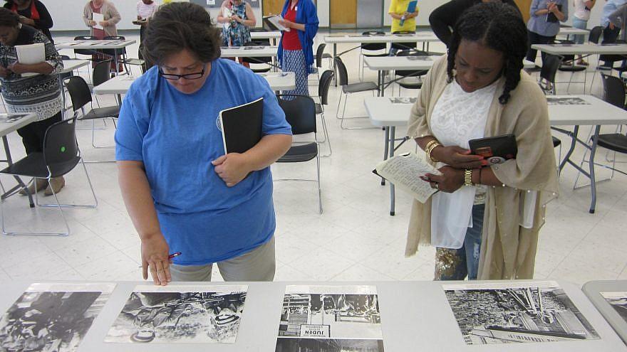TOLI Holocaust teacher's seminar in Jackson, Miss. Credit: TOLI Facebook.