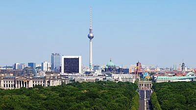A view of Berlin, Germany. Credit: Wikimedia Commons.