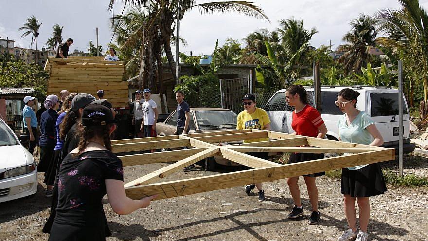 NJ NCSY teens in Puerto Rico. Credit: NJ NCSY via Facebook