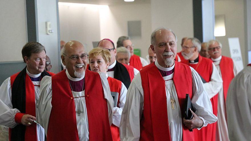 Episcopal Church bishops at its 2018 General Convention in Austin, Texas. Credit: Episcopal Church via Facebook.