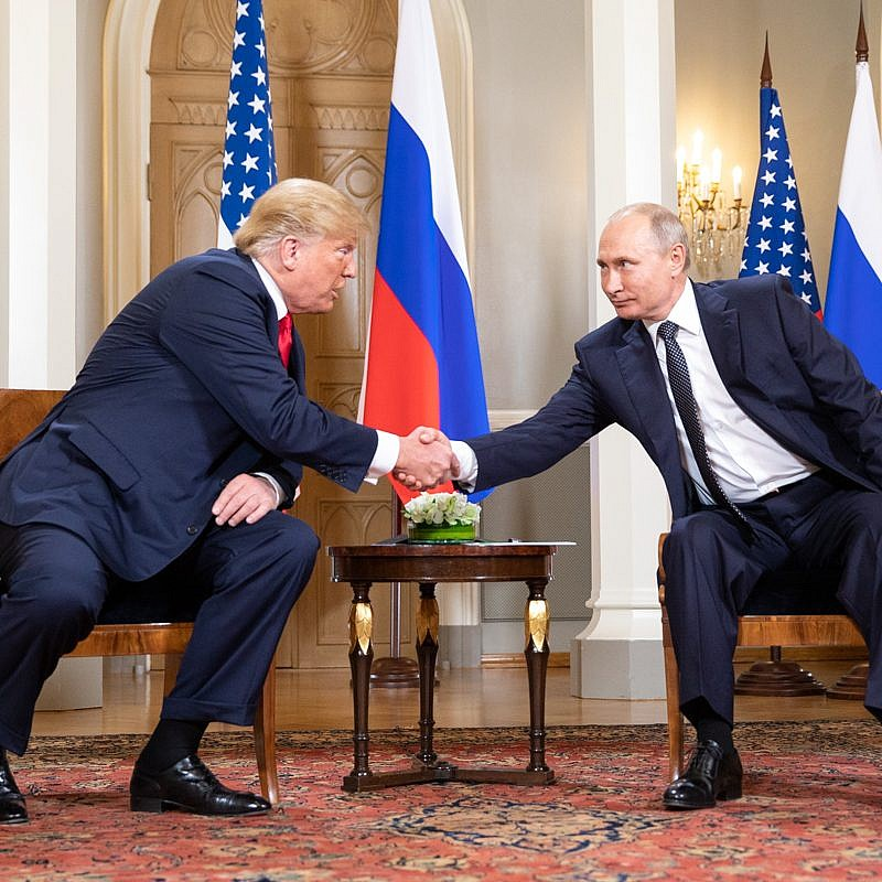 President Donald J. Trump and President Vladimir Putin of the Russian Federation | July 16, 2018 Credit: Official White House Photo by Shealah Craighead