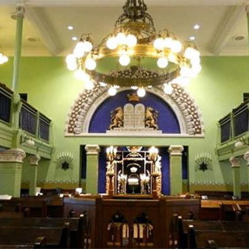 The Helsinki Synagogue, erected in 1906. (Credit: Chabad.org/News)