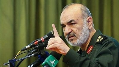 Iranian Islamic Revolutionary Guard Corps Maj. Gen. Hossein Salami, on June 8, 2018. (MEMRI)