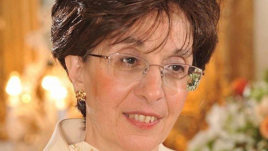 Sarah Halimi. Credit: Confédération des Juifs de France et des amis d'Israël.