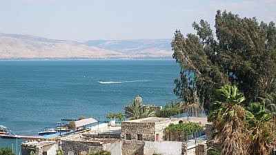 The Sea of Galilee. Credit: Wikimedia Commons.