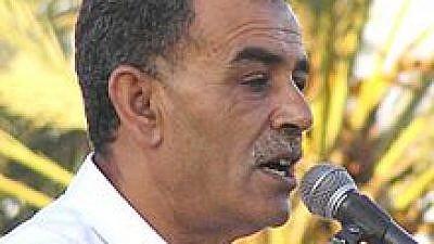 Arab Knesset member Jamal Zahalka. Credit: Wikipedia.