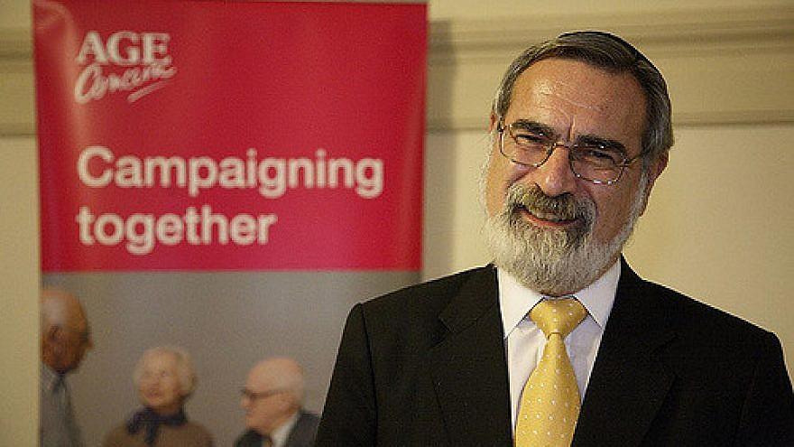 Chief Rabbi of the United Kingdom Jonathan Sacks at a National Poverty Hearing in 2006 at Westminster, London. Now emeritus chief rabbi, he left the position in 2013 after holding it for more than 20 years. Source: cooperniall/Flickr.