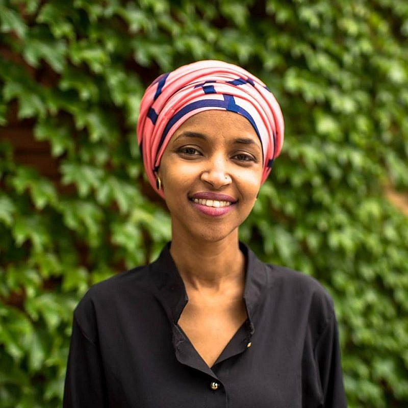 "Democratic candidate for Congress from Minnesota Ilhan Omar. She has previously labeled Israel as an ""apartheid regime"" that has ""hypnotized the world."" Credit: Ilhan Omar for Congress via Facebook."