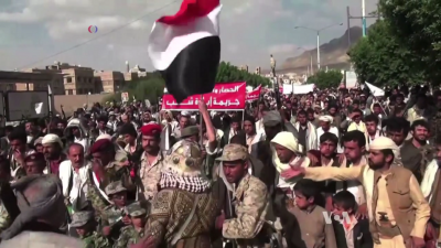 Iranian-backed Houthis in Yemen. Credit: Wikimedia Commons.