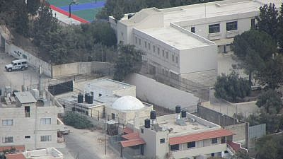 The Joseph's Tomb compound in Shechem (Nablus). Oct.10, 2014. Credit: Wikimedia Commons.