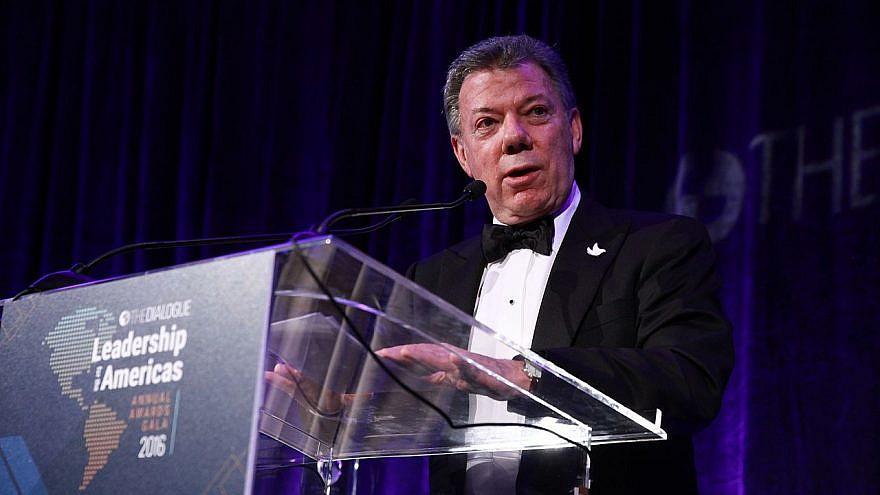 Former Columbia President Juan Manuel Santos. Credit: Wikimedia Commons.