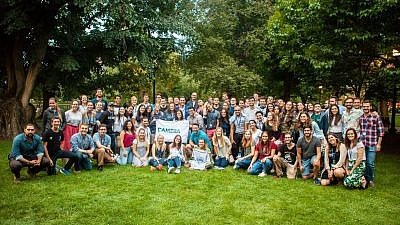 More than 80 students from 70 different campuses attended the 2018 CAMERA Conference to learn tools on addressing anti-Israel sentiment on college campuses. Credit: CAMERA on Campus.