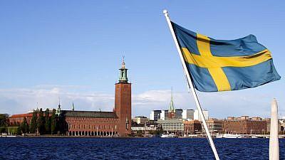 The Swedish flag over Stockholm. Credit: Stefan Lins via Flickr.