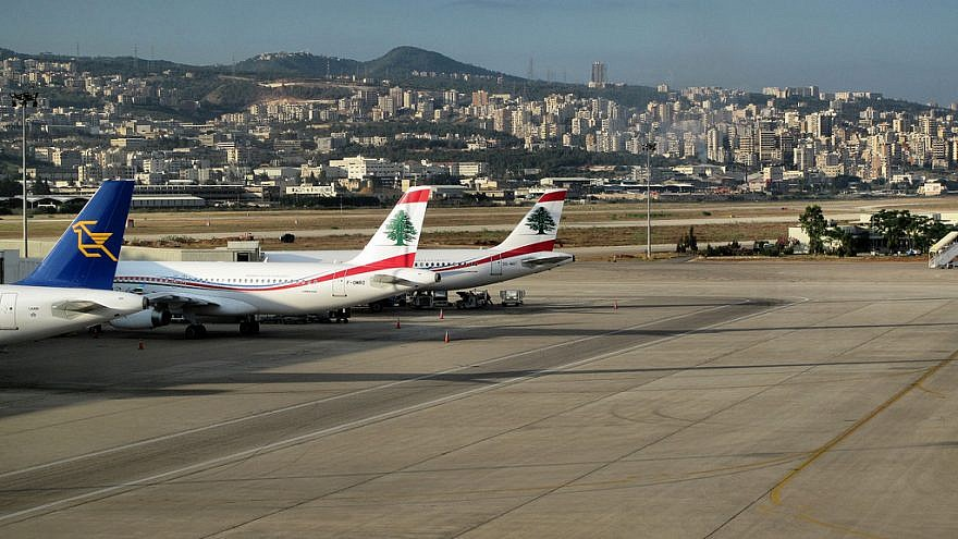 A view of planes at Beirut Airport in Lebanon. Credit: Francisco Anzola via Flickr.