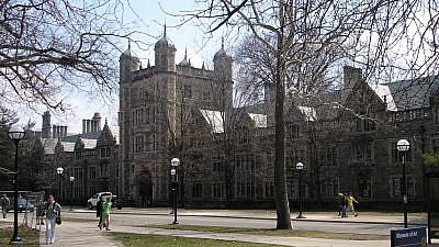The University of Michigan campus in Ann Arbor, Mich. Credit: Jha4ceb/Wikimedia Commons.