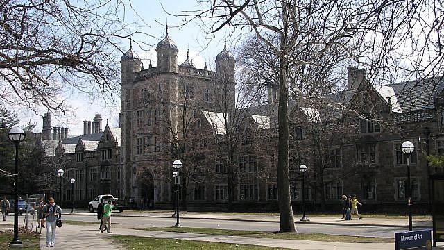 The University of Michigan campus in Ann Arbor, Mich. Credit: Jha4ceb/Wikimedia Commons.