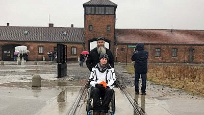 """Alexander (Avi) Davidson, a student at the University of South Florida in Tampa, documented his experiences on a Chabad on Campus """"Living Links"""" trip to Poland."""