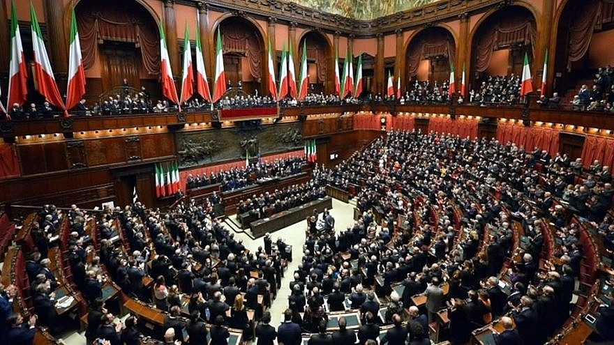 The Chamber of Deputies is the Lower House of Italy. Credit: Wikimedia Commons.