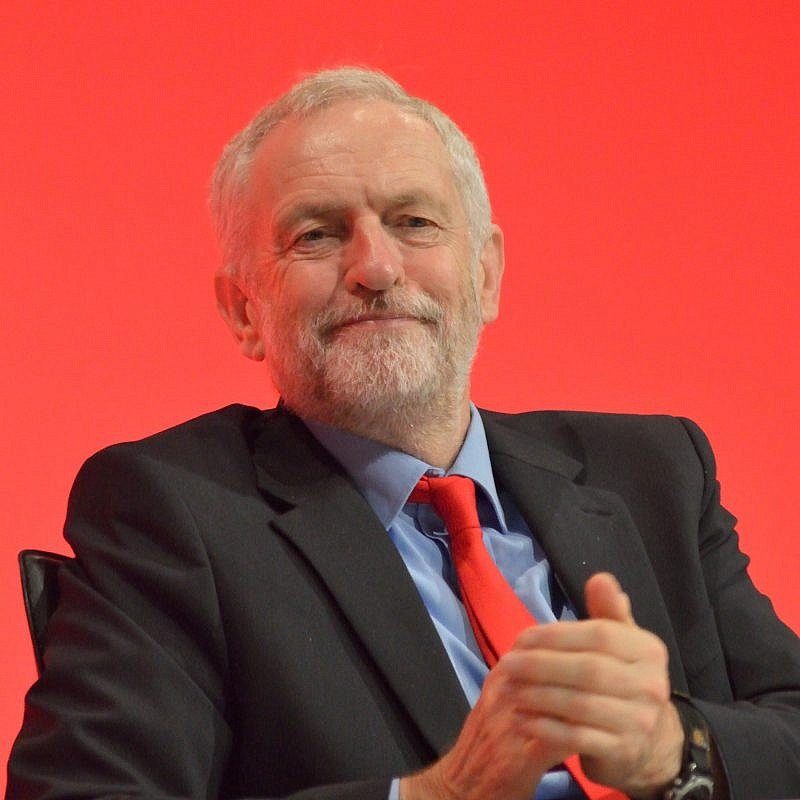 British Labour Party leader Jeremy Corbyn, May 12, 2017. Credit: Wikimedia Commons.