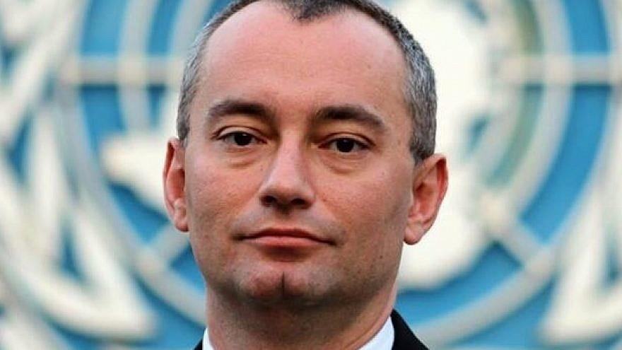 U.N. Middle East envoy Nickolay Mladenov. Credit: Wikipedia.