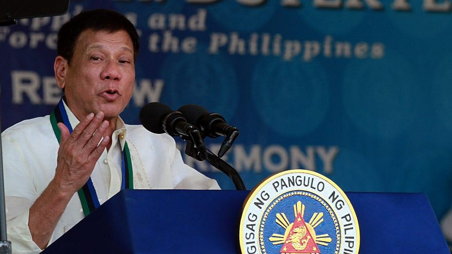 Philippines President Rodrigo R. Duterte. Credit: Photo by Marcelino Pascua/PCOO/Wikimedia Commons.