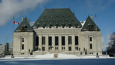 The Supreme Court of Canada Building. Credit: Wikimedia Commons.