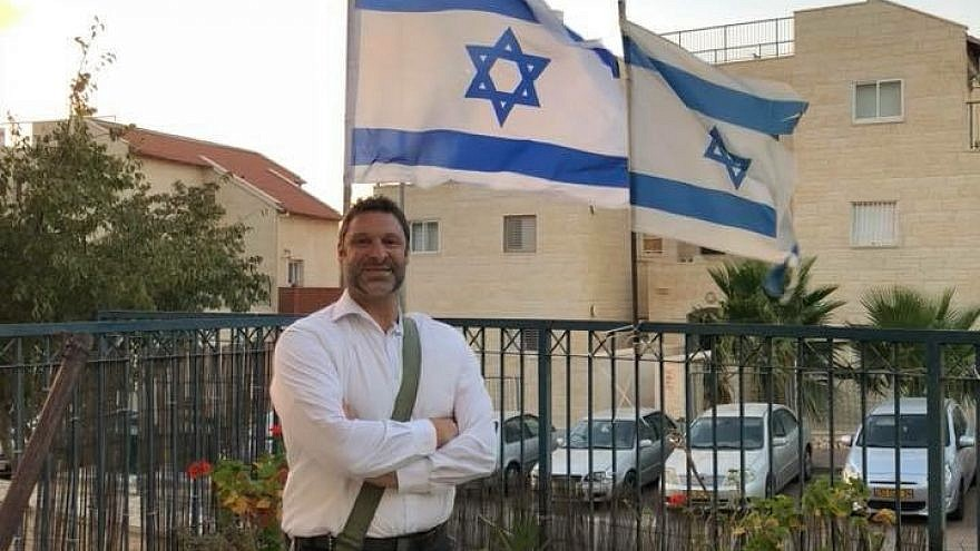Ari Fuld at his home in Efrat, Israel. Courtesy: Yishai Fleisher.