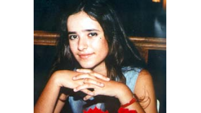 Ziva Goldovsky, 18, an Israeli who was beaten and strangled to death, and then burned, by a Palestinian in 1988.