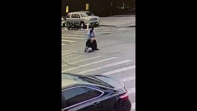Footage of Sunday's brutal attack in Brooklyn, N.Y., on Oct. 14, 2018. Source: YouTube.