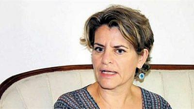 Amira Oron, Israel's new ambassador to Cairo