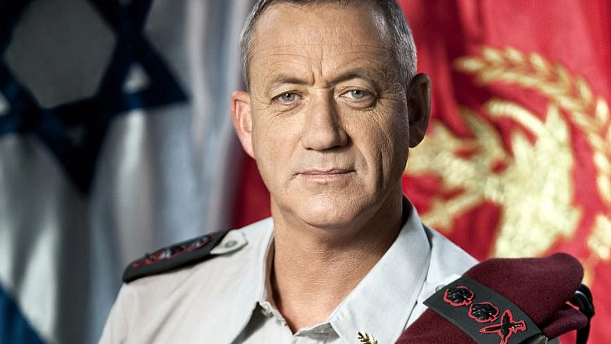 Israel Defense Forces Chief of Staff Lt. Gen. Benny Gantz. Credit: Wikimedia Commons.